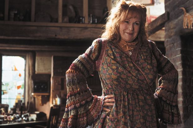 harry potter and the chamber of secrets pictured julie walters  harry potter and the chamber of secrets pictured julie walters mrs weasley